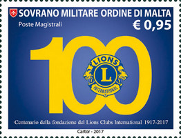 [The 100th Anniversary of the Foundation of the Lions Club International, Typ BEU]