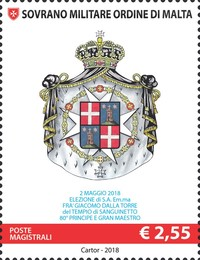 [Election of Fra Giacomo dalla Torre del Tempio di Sanguinetto as 80th Prince and Grand Master of the Sovereign Military Order of Malta, Typ BGR]