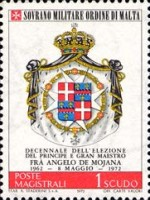 [The 10th Anniversary of the Election of Grand Master Angelo De Mojana, type CA]