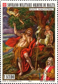 [St. John the Baptist, Patron of the Order, Typ CG]