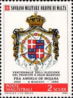 [Coat of Arms of the Grand Masters - Angelo De Mojana, type HL]