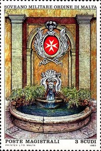 [Ancient Fountains of the Magisterial Residences, type HT]