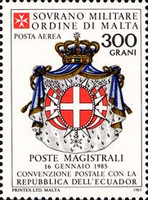 [Airmail - Postal Agreement with Ecuador, type JF]