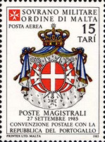 [Airmail - Postal Agreement with Portugal, type JO]