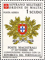 [Airmail - Postal Agreement with Portugal, type JP]