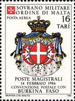 [Airmail - Postal Agreement with Burkina Faso, type KH]