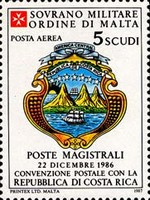 [Airmail - Postal Agreement with Costa Rica, Typ LR]
