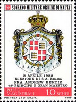 [Election of the Grand Master Fra Andrew Bertie, Typ ML]