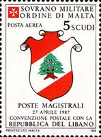 [Airmail - Postal Agreement with Lebanon, Typ MP]