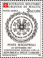 [Airmail - Postal Agreement with Comoros, Typ MT]