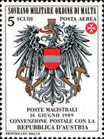 [Airmail - Postal Agreement with Austria, Typ OP]