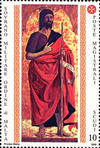 [St. John the Baptist, Patron of the Order, Typ PO]