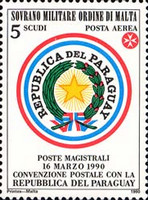 [Airmail - Postal Agreement with Paraguay, Typ PQ]