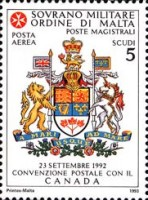 [Airmail - Postal Agreement with Canada, Typ TW]