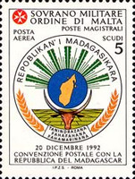 [Airmail - Postal Agreement with Madagascar, Typ UR]