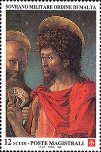 [St. John the Baptist, Patron of the Order, Typ WP]
