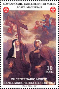 [The 700th Anniversary of the Death of St. Margaret of Cortona, 1247-1297, Typ XI]