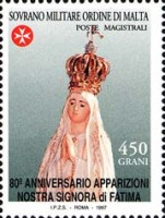 [The 80th Anniversary of the Appearance of Our Lady of Fatima, Typ XL]