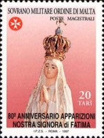 [The 80th Anniversary of the Appearance of Our Lady of Fatima, Typ XM]
