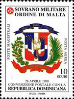 [Airmail - Postal Agreement with Dominican Republic, Typ ZO]