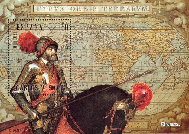[The 500th Anniversary of the Birth of Carlos V, type ]