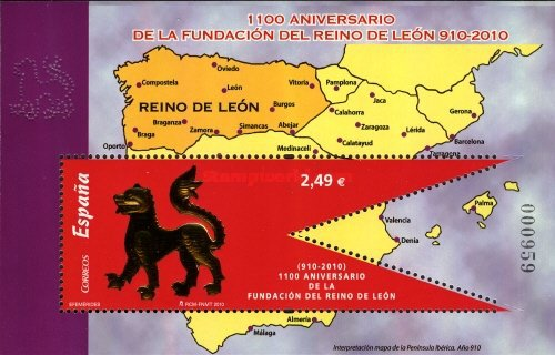 [The 1100th Anniversary of the Foundation of the Kingdom of Leon, type ]