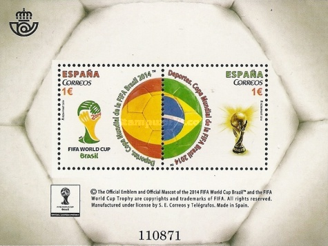 [FIFA Football World Cup - Brazil, type ]