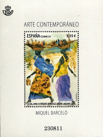 [Contemporary Art - Miquel Barceló, type ]