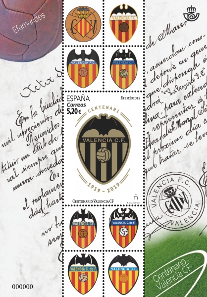 [Football Clubs - The 100t hAnniversary of Valencia CF, type ]