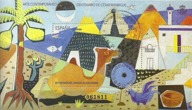 [The 100th Anniversary of the Birth of César Manrique, 1919-1992, type ]