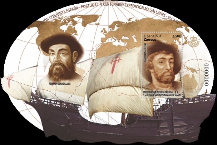 [The 500th Anniversary of the World's First Circumnavigation - Joint Issue with Portugal, type ]