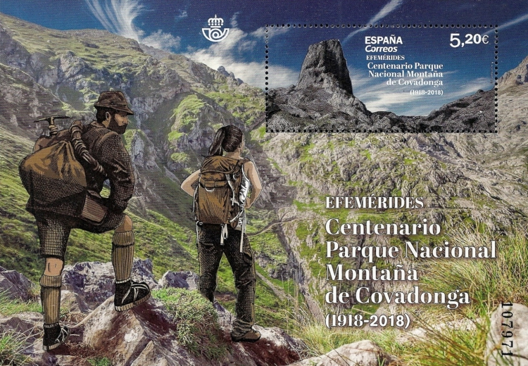 [The 100th Anniversary of the Covadonga Mountain National Park, type ]