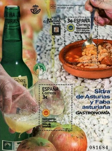[Gastronomy - Protected Designations of Origin of Asturias, type ]