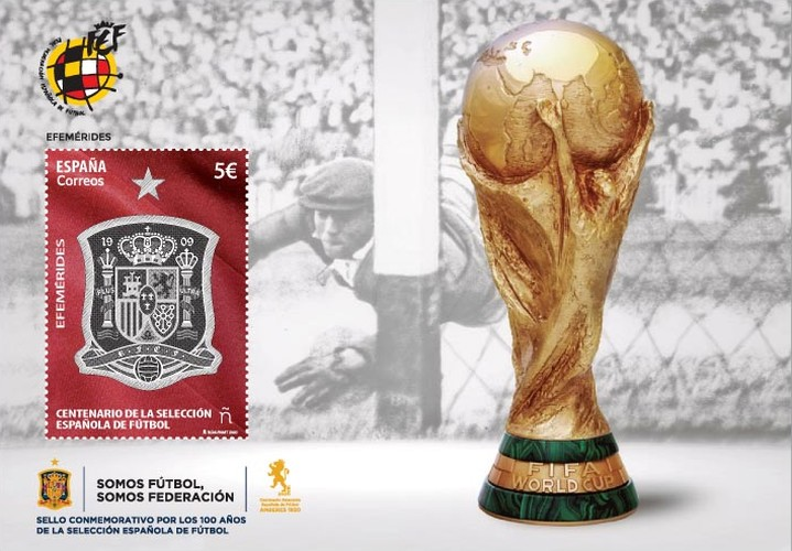 [The 100th Anniversary of the Spanish National Football Team, type ]