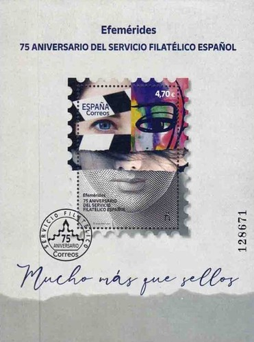 [The 75th Anniversary of Spain's Philatelic Services, type ]