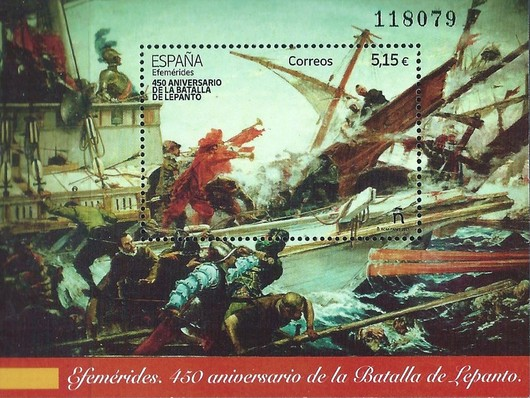 [The 450th Anniversary of the Battle of Lepanto, type ]