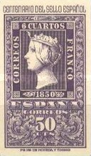 [The 100th Anniversary of Spanish Stamps, type AMA]