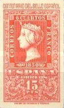 [The 100th Anniversary of Spanish Stamps, type AMD]