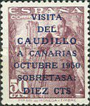 [Visit of General Franco to the Canary Islands, type AMJ]