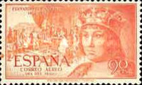 [Airmail - The 500th Anniversary of the Birth of King Ferdinand V, type ANK]