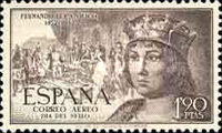 [Airmail - The 500th Anniversary of the Birth of King Ferdinand V, type ANM]