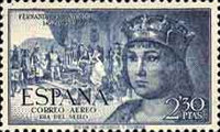[Airmail - The 500th Anniversary of the Birth of King Ferdinand V, type ANN]