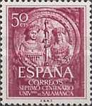 [Stamp Day - The 700th Anniversary of the Founding of the University of Salamanca, type ANR]
