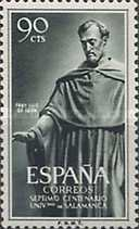 [Stamp Day - The 700th Anniversary of the Founding of the University of Salamanca, type ANS]