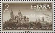 [Stamp Day - The 700th Anniversary of the Founding of the University of Salamanca, type ANT]