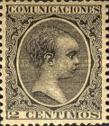 [King Alfonso XII - As Previous, New Colors, type AS13]