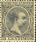[King Alfonso XII - As Previous, New Colors, type AS14]