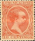 [King Alfonso XII - As Previous, New Colors, type AS15]
