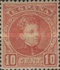 [King Alfonso XIII - Blue Control Numbers on Backside, type AT2]