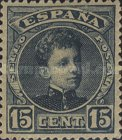 [King Alfonso XIII - Blue Control Numbers on Backside, type AT3]